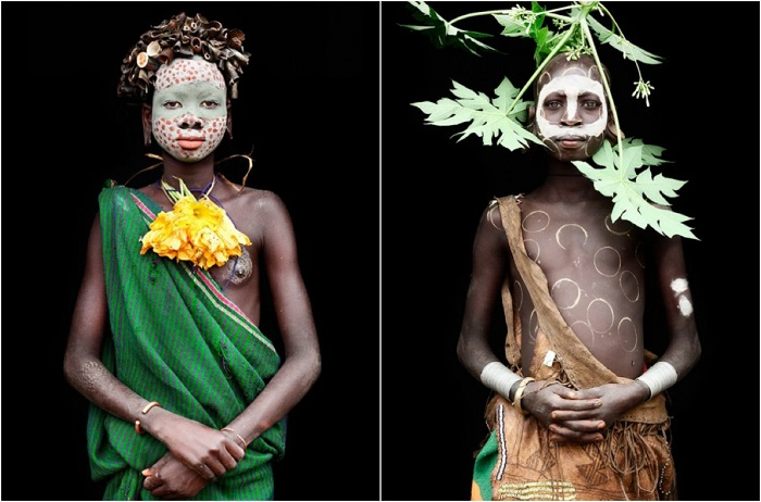 Особенности африканских племён.