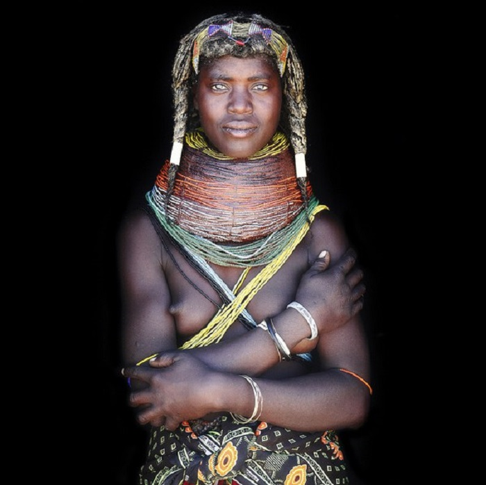 Жительница одного из самых трудных участков в горной пустыне.