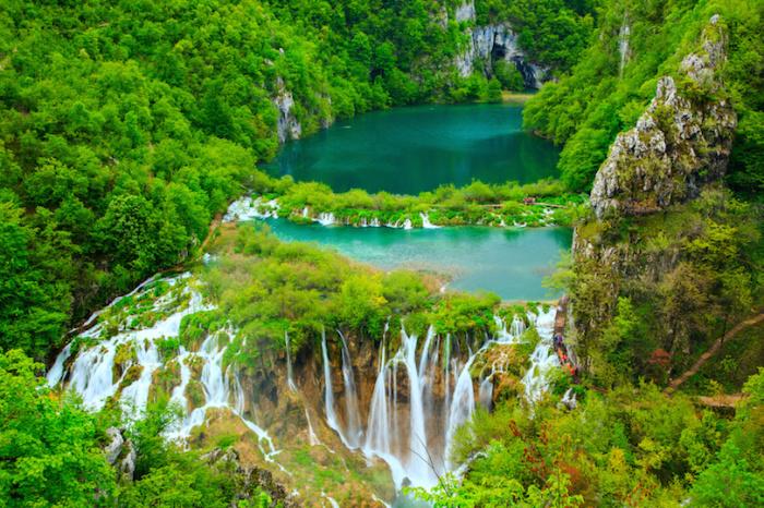 Зеленое сердце Хорватии.
