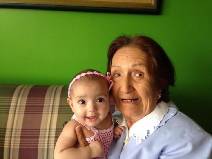 «Между моей дочкой и бабушкой разница в 91 год».