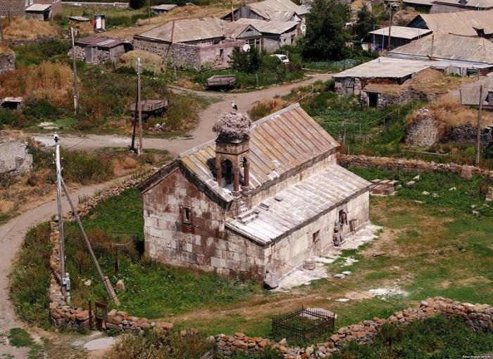 Древняя армяно-грузинская деревня в Ахалкалакском муниципалитете близ Цихисджвари.