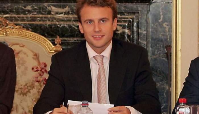 В 2007 году, когда был сделан этот снимок, молодой Маркон работал в Министерстве экономики, а в 2017 политик победил на выборах и стал президентом Франции.