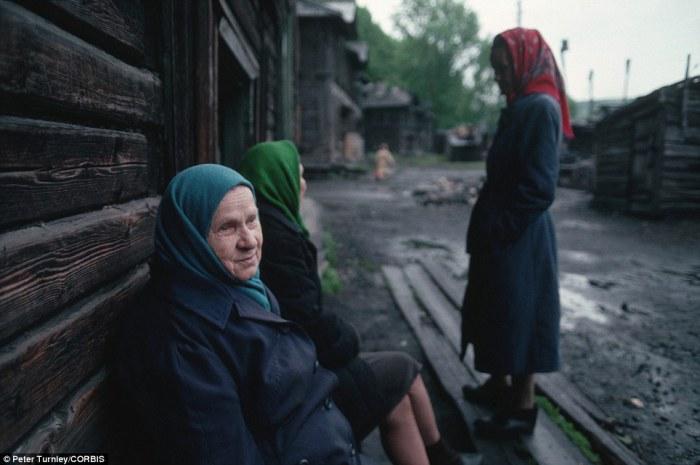 Старушки в Новокузнецке.