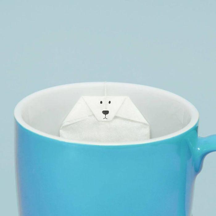 Водные процедуры чайного пакетика.