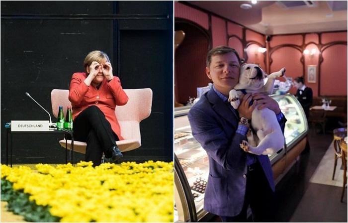 Неформальные инстаграм-фотографии первых лиц разных стран.