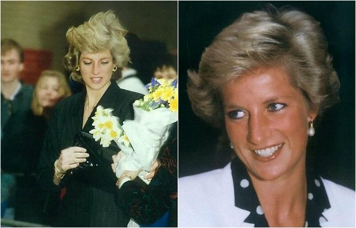 Неизвестные фотографии принцессы Дианы.