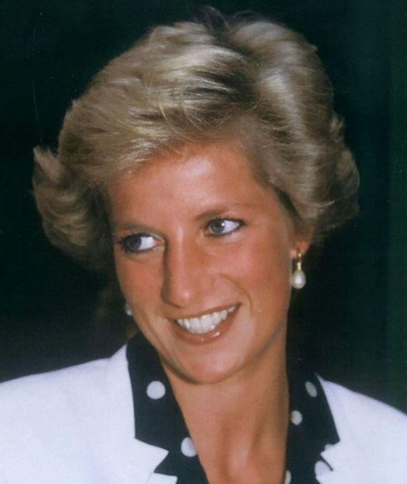 Первая жена наследника британского престола в выставочном комплексе «Брайтон Центр».