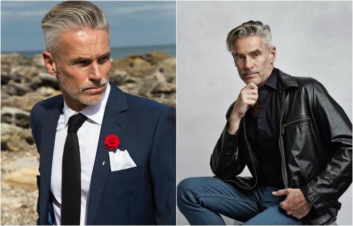 Стильные мужчины-модели, которым более 50 лет.