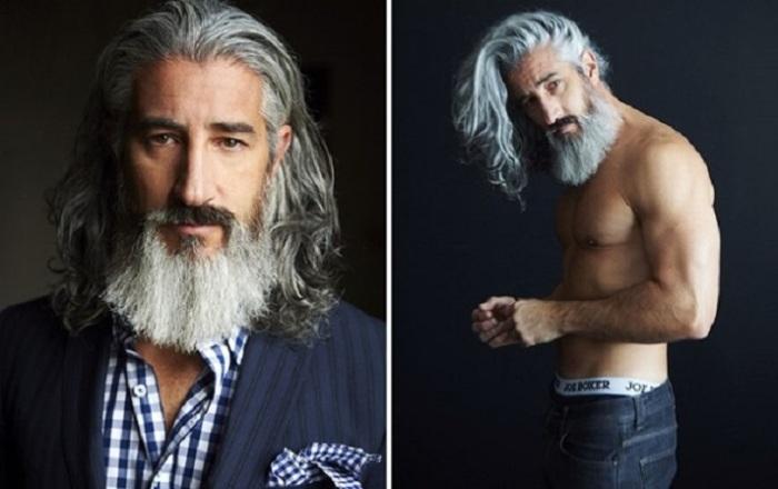 Этот канадский профессор с великолепной бородой лишь недавно стал моделью и успешно покоряет модельный бизнес.