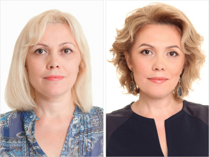 Константин Богомолов, превративший женщину в красавицу благодаря деликатной бежево-розовой гамме макияжа.