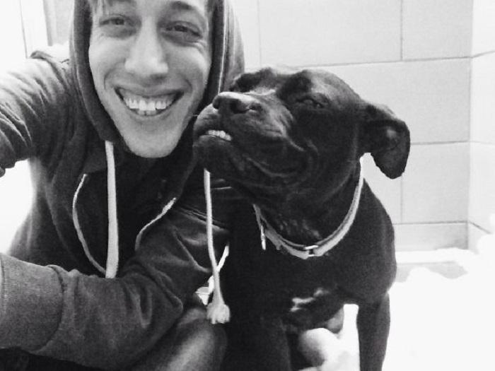 Пес, который научит улыбаться.