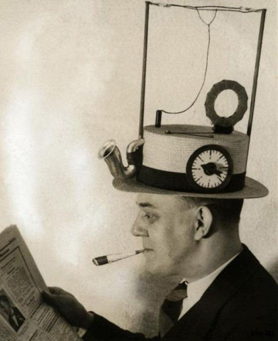 Шляпа-радио, (США, 1931 год).