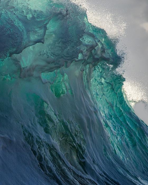 Снимок Коллинза напоминает картину, которая нарисована с помощью кисти и красок.