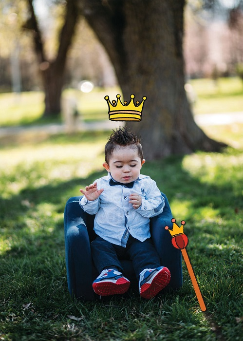 Маленький Принц и фотомодель по совместительству (Синдром Дауна).