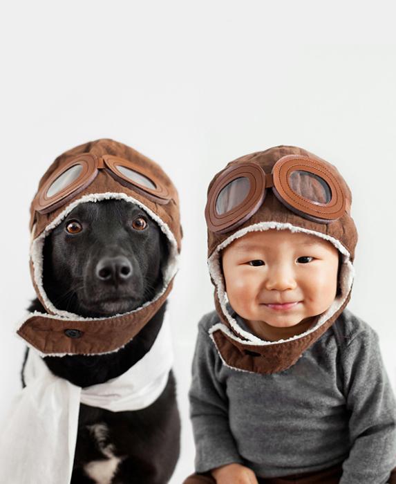 Забавный защитный головной убор.