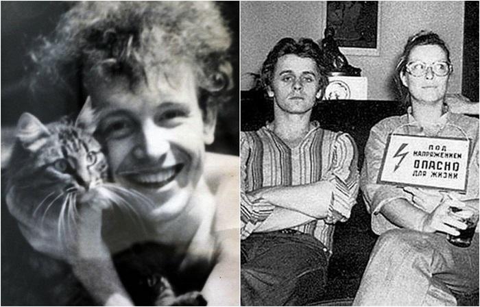 Редкие фотографии знаменитых людей.