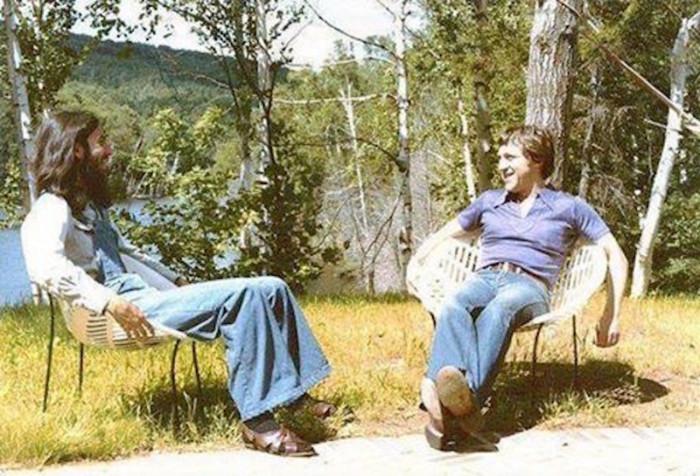 Встреча друзей под Монреалем во время записи первой зарубежной пластинки Владимира Высоцкого.