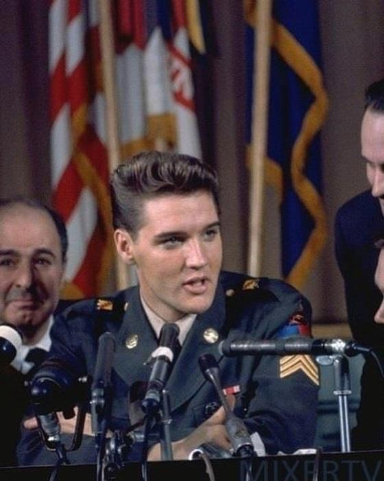 Служба в армии, которая началась в марте 1958 года, позволила королю рок-н-рола приобрести еще больше поклонников.