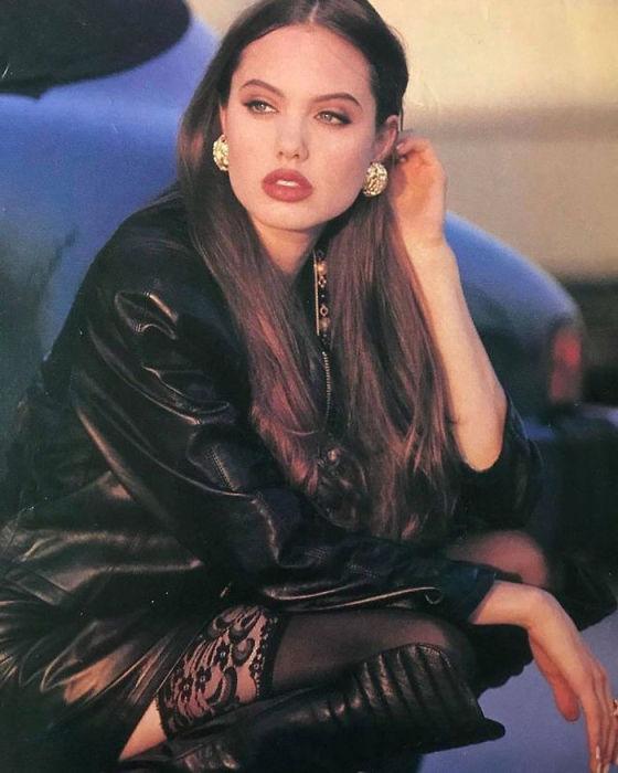 Снимок американской актрисы, сделанный фотографом Бонни Льюис (Bonnie Lewis) в 1992 году.