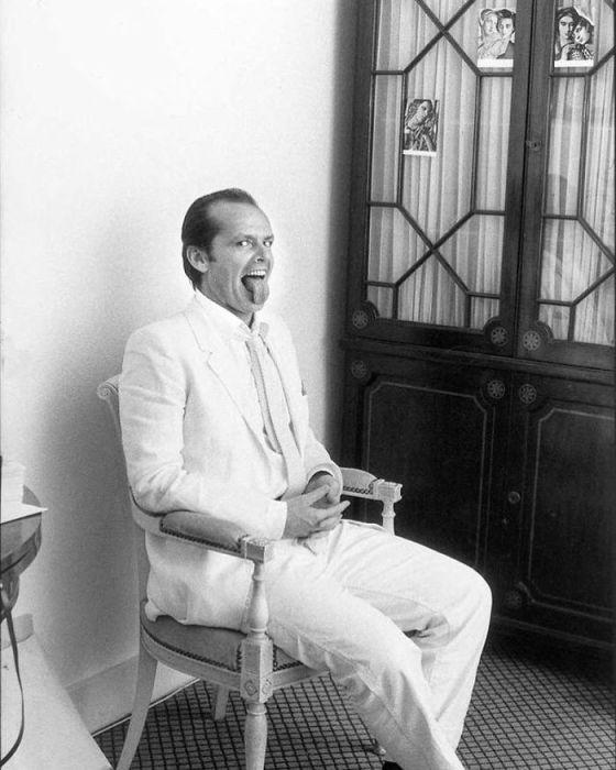 Снимок знаменитого американского актера, сделанный фотографом Мичу Саймоном (Michou Simon) в 1981 году.