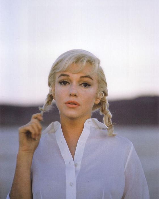Образ американской актрисы для фильма «Неприкаянные», ставшем последним в жизни Мэрилин.