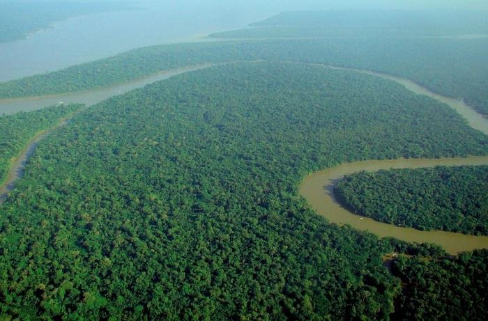 Самая крупная река в мире.