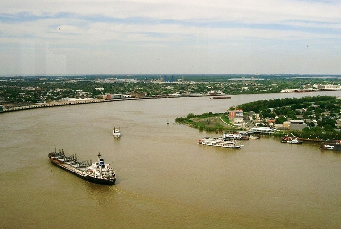 Самая длинная река Северной Америки.