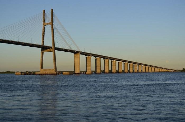 Вторая по величине река Южной Америки.