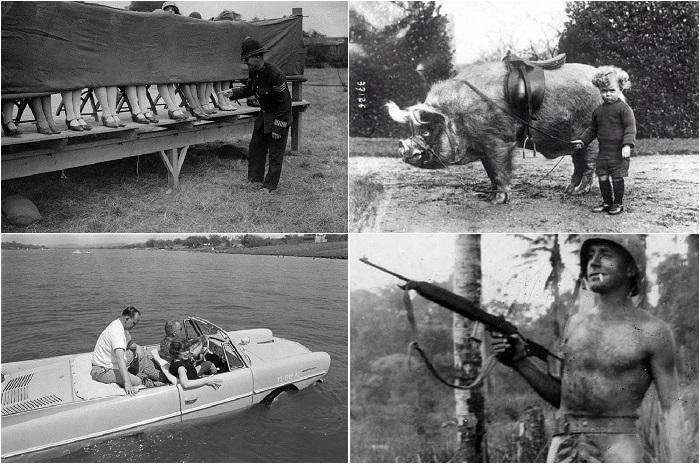 Редкие исторические фотографии, раскрывающие странности нашего мира.