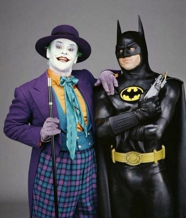 Джокер (Джек Николсон) и Бэтмен (Майкл Китон).