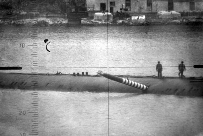 Торпеда, которая попала прямо в подводную лодку К-178.