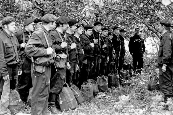 Бойцы управления КГБ СССР.