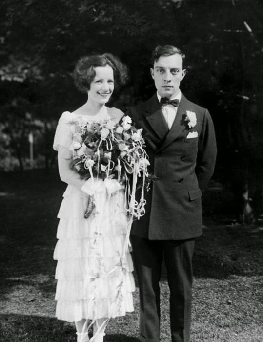 Свадьба известного американского комедийного актёра, 1921 год.