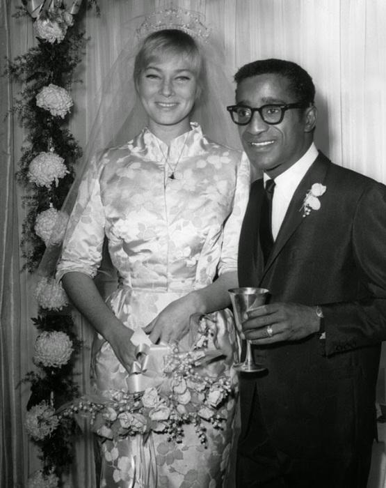 Свадьба американского эстрадного артиста с любимой многими актрисой, 1960 год.