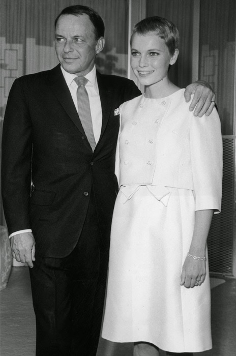 Свадьба американского певца и американской актрисы, 1966 год.