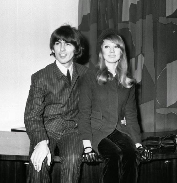 Свадьба английской фотомодели и британского рок-музыканта, 1966 год.