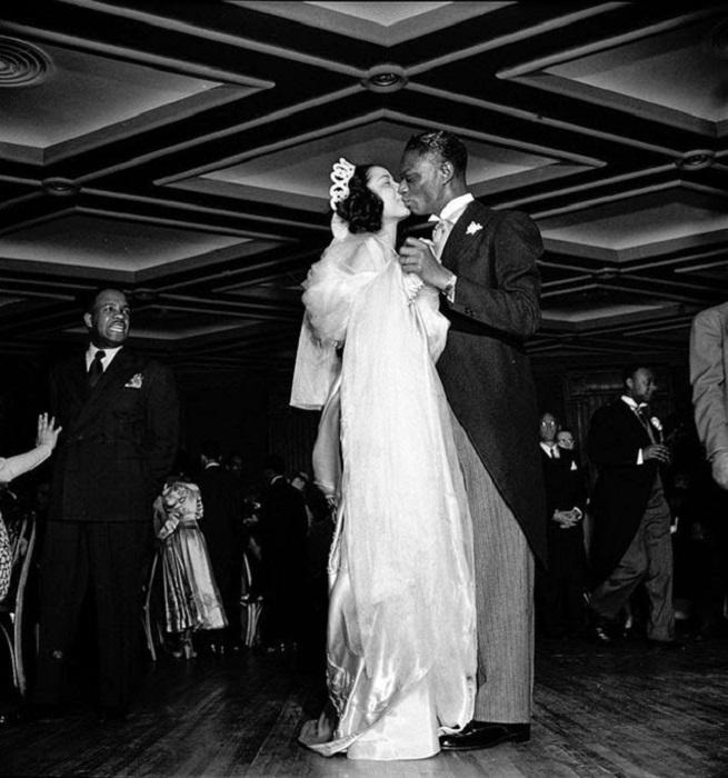 Свадьба популярного американского джазового пианиста, 1948 год.