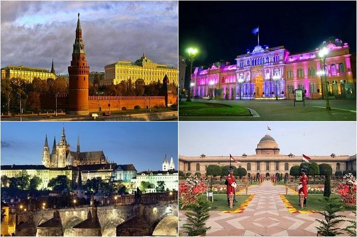 Самые впечатляющие резиденции глав государств разных стран.