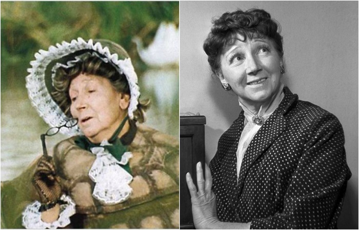 Актриса играла в основном эпизодические роли, но порой ее выразительные героини запоминаются лучше основных персонажей.