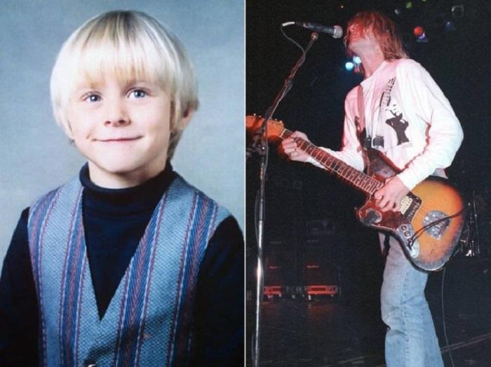 Вокалист и гитарист культовой американской группы Nirvana.
