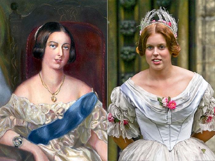 Дочь принца Эндрю и Сары Фергюссон очень похожа на свою величественную прапрапрабабушку королеву - практически одно лицо!