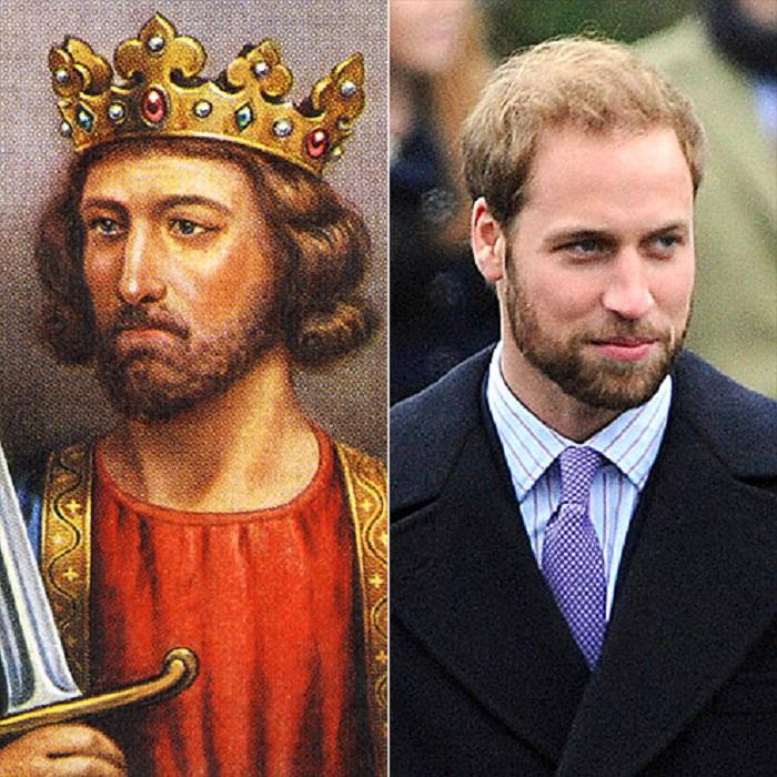 Герцог Кембриджский и старший сын принца Чарльза унаследовал черты своего дальнего королевского предка из 14 века.