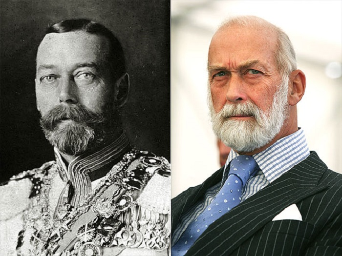 Отец лорда Фредерика Виндзора очень похож на своего королевского деда, вплоть до бороды.