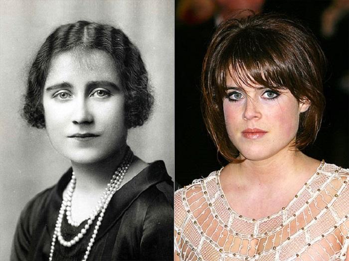 Младшая дочь Эндрю и Сары, герцога и герцогини Йоркских, унаследовала от своей прапрабабушки красивые глаза.