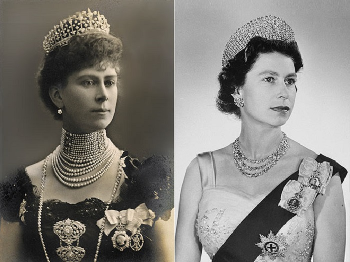 Благородная внучка унаследовала все черты своей царственной бабушки.