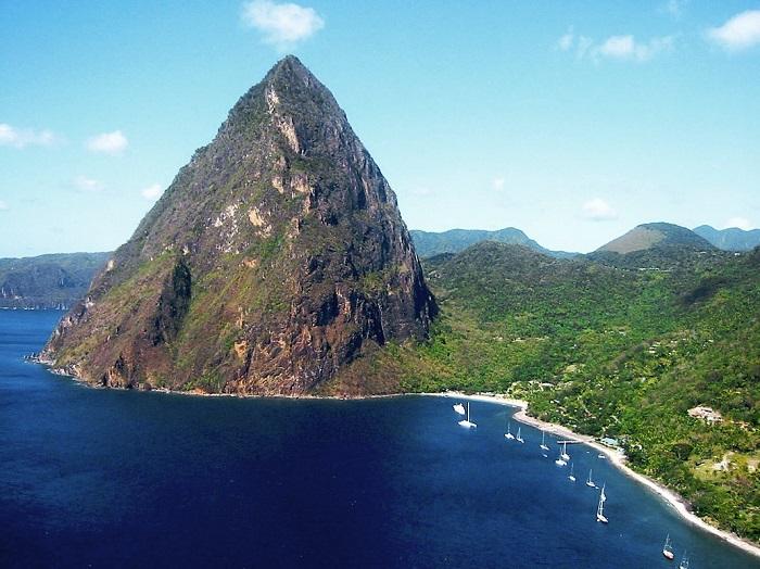 Один из красивейших островов в Карибском море.