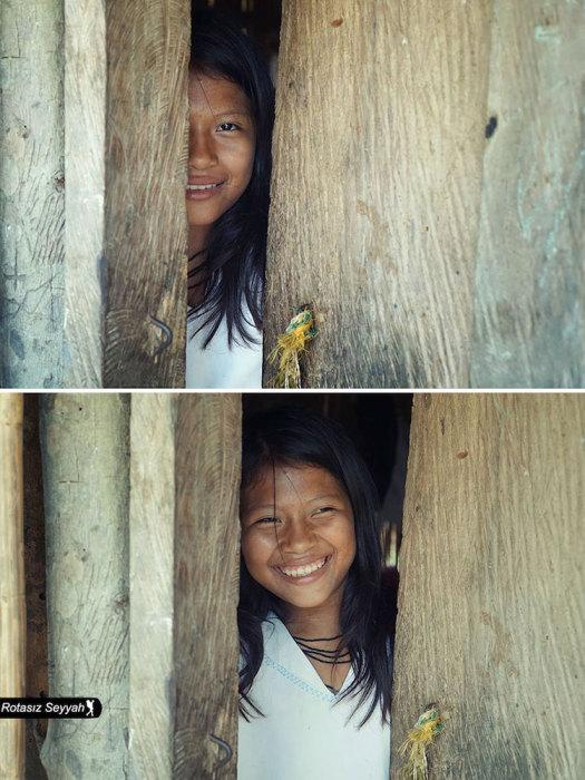 Невозможно удержаться от счастливой улыбки.