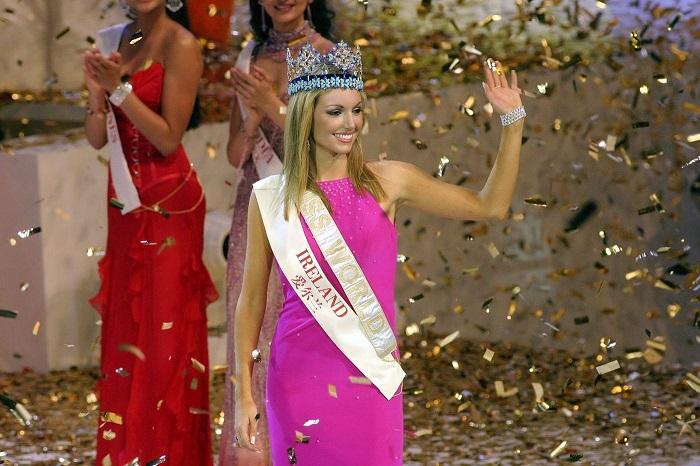 Ирландская модель, победительница конкурса « Мисс Мира» 2003 года, стала первой ирландкой, сумевшей  получить  корону с 1951 года.