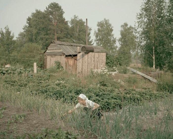 Все необходимые овощи выращиваются самостоятельно на собственном огороде.