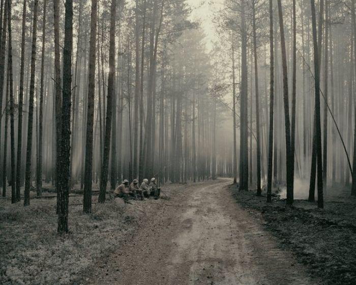 Огонь – страшный противник, поэтому старообрядцы строго следят за окружающим лесом.